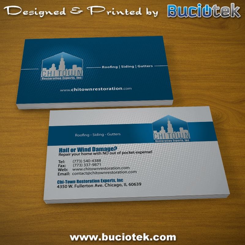 ChiTown – Business Cards | Buciotek.com