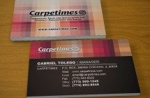 Carpetimes – Business Card